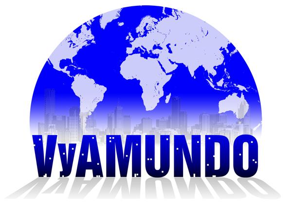 imagen corporativa logo cliente VYAMUNDO